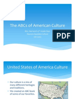 The ABCs of American Culture