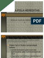 Pola-pola-hereditas Penyimpangan Semu Hk Mendel