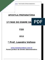 Apostila 1ª Fase do Exame da OAB 2011.3 (1)
