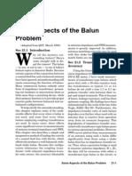 Some Aspects BALUN