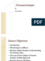 Object Oriented Analysis Process