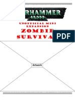 Warhammer 40k Unofficial Mini Expansion Zombie Survival