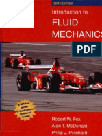 Introduction to Fluid Mechanics 6th Edition (FOX)