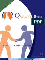 Quality Bucks Brochure