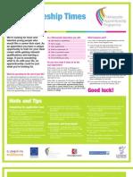 25.103 Apprentice Newsletter 2011