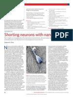 Gabriel A. Silva- Shorting neurons with nanotubes