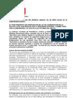 Proposición de Ley Coordinación Policía Local 06.11.08