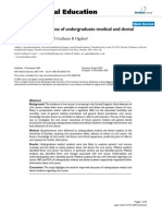 Oral Cancer Awareness of Undergraduate Medical and Dental