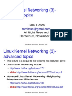 IPv6 in the Linux kernel by Rami Rosen