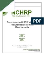 Min Reinforcement -Nchrp w149
