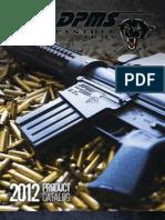 DPMS Panther Arms 2012 Catalog