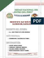 Monografia de Motivacion y Liderazgo