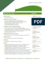 AEBIOM Newsletter October 2011
