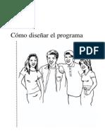 Cómo diseñar el programa