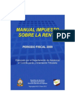 Manual Para Calculo Del Impuesto Sobre Renta