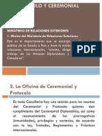PROTOCOLO Y CEREMONIAL PÚBLICA