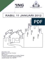 Scan Kliping Berita Perumahan Rakyat 11 Januari 2012