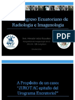 Urotac, Epitafio Del Urograma Excretorio