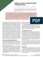 AUB Classification- FIGO