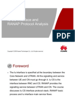 Owa330020 Ranap Protocol Analysis(Iu Cs) Issue3.0