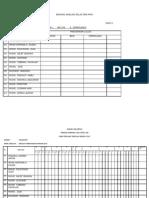 Borang Analisis Kelas Pbs Pafa