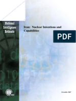 Nie Iran Nuclear Intentions and Capabilities Dec 2007