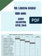 Audit Akademik Upsr 2010 Sjkt Bahau