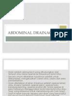 Abdominal Drainage
