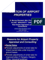 Valuation of Airport Properties