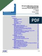 Managing Celerra File Systems Using AVM
