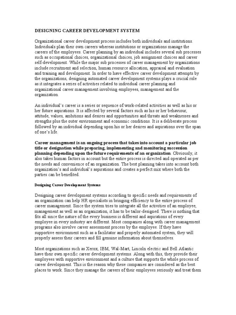 ibm career development