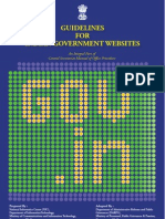 Web Guidelines by NIC