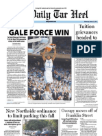 The Daily Tar Heel for January 11, 2012