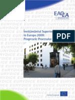Invatamantul Superior in Europa 2009 Progresele Procesului Bologna