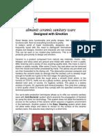 Ceramic Sanitary Ware Tech Info