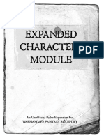 Expanded Characters Module