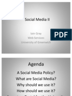 Social Media Presentation 2011
