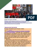 Noticias Uruguayas Lunes 9 de Enero de 2012