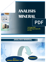 3. Analisis Mineral 2011