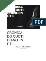 crónica do quotidiano inútil (cqi vol. 2)