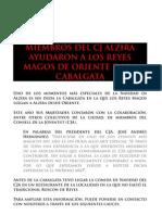 PARTICIPACIÓN DE CJ ALZIRA EN LA CAVALGATA DE REYES MAGOS - NOTA DE PRENSA