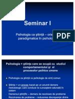 Seminar Introductiv