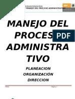 Antologia de Manejo Del Proceso Administrativo