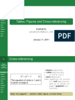 Tables, Figures and Cross-referencing in LaTeX