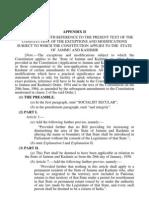 Indian Constitution Appendix II