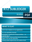 R12 SLA - Use and Implication for Different Modules