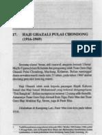 Kenali - Allahyarham Tuan Guru Haji Ghazali Pulai Chondong- pg1