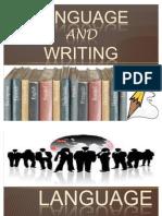 LANGUAGE and Writing