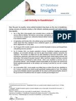 Database Insights Kazakhstan January 2012