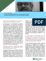 Entrevista al Dr. Leonardo Fabbri